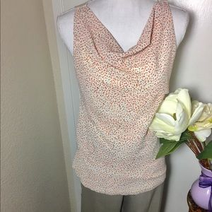 Ann Taylor layered Sleeveless Blouse
